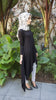 Black Asymmetrical Tunic