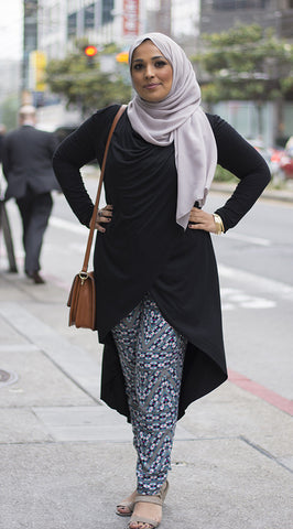 Black Crossover Tunic
