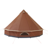 10T Mojave 400 - 4m Bell tent 8-person pyramid round with sewn in ground sheet - Bell tents