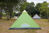 3 person tipi teepee tent, mesh door with PE floor ground sheet