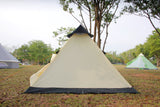 2 person tipi teepee tent, mesh door with PE floor ground sheet
