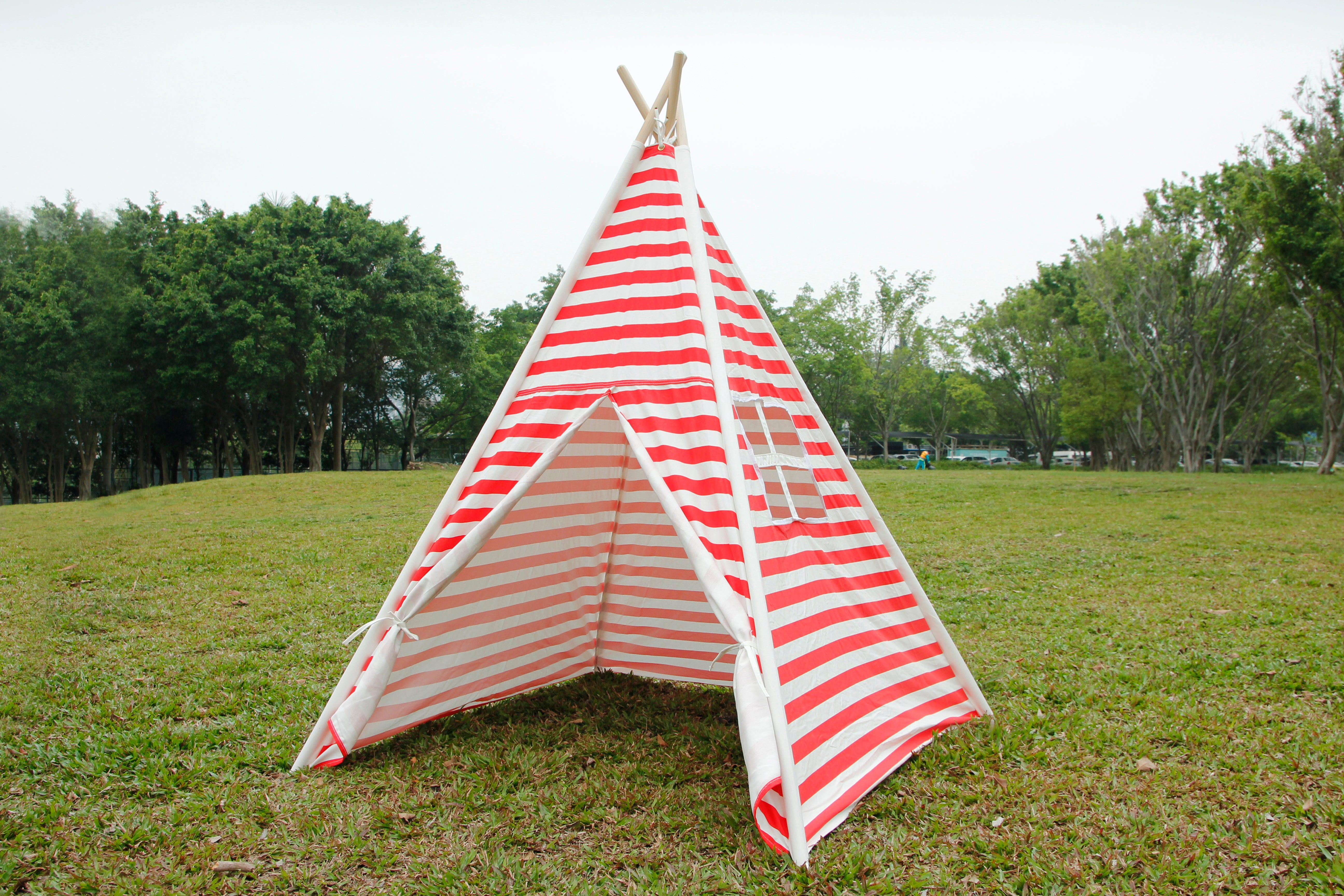 Canvas Teepee Tent for Kids Tipi Tent teepee tent 2 Child Indian TP