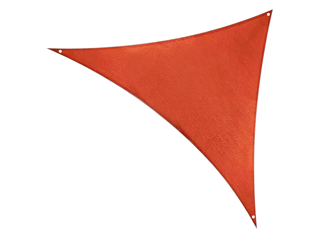 Triangle Sun Awning Tarp Triangle Model orange, Knitted Fabric - Bell tents
