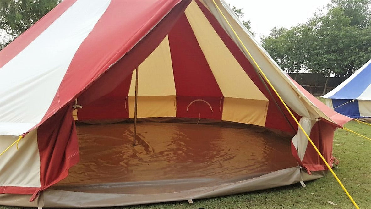 Sandstone Bell Tent Boutique Cing & 5m Bell Tent Groundsheet - Best Tent 2018