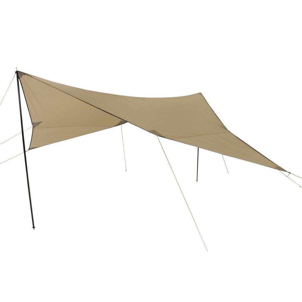 ... 10T Shade sail TARP III 500x500 beige incl. poles HHu003d2000mm  sc 1 st  Bell tents & Tarps and Awnings | tarp | Bell tents