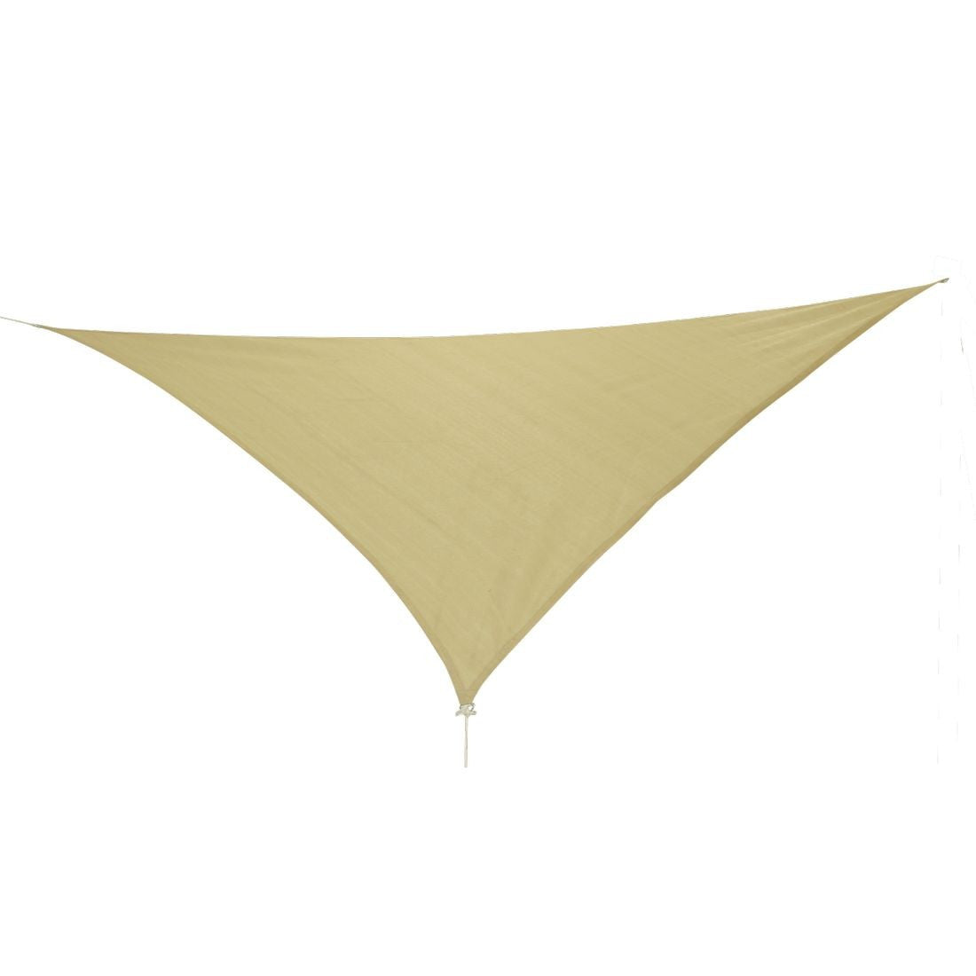 10T Emerson 500 - Triangle sun awning tarp, 500cm, knitted fabric, 90% UV-protection - Bell tents