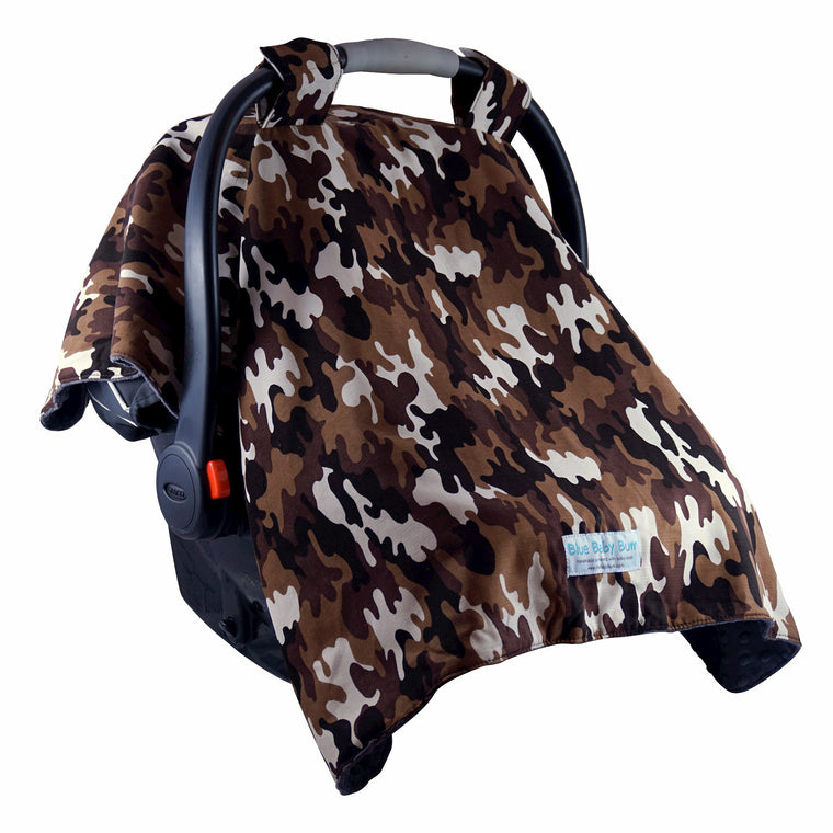 Car Seat Canopy Camo Boys