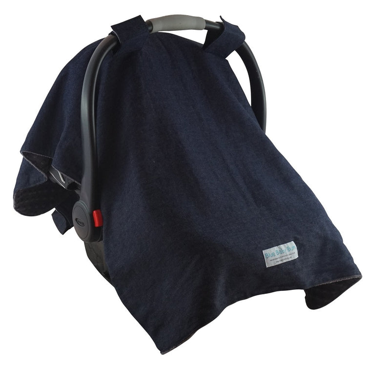 Car Seat Canopy Soft Denim