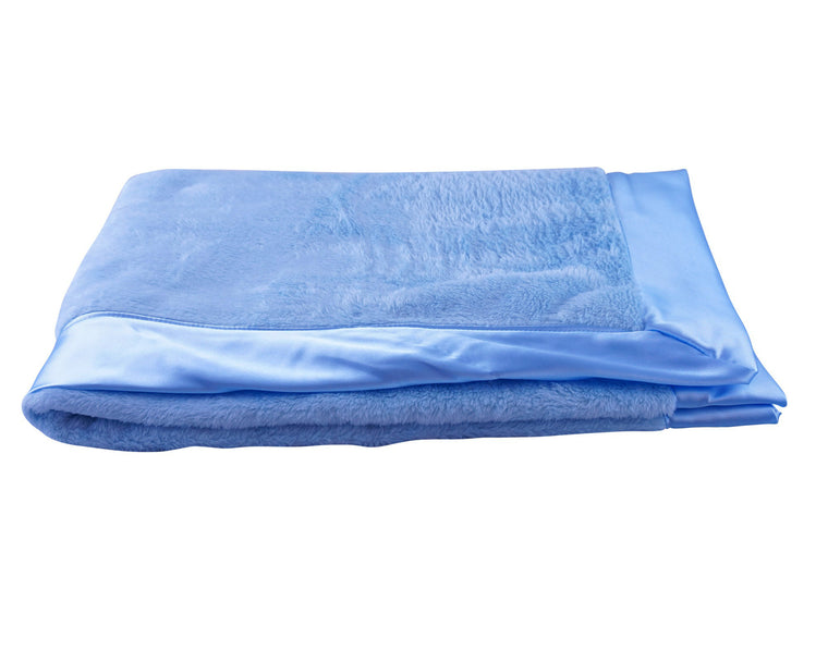 Luxurious Classic Blanket Baby Blue