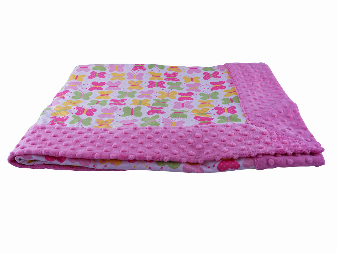 Forever Baby Blanket Butterflies