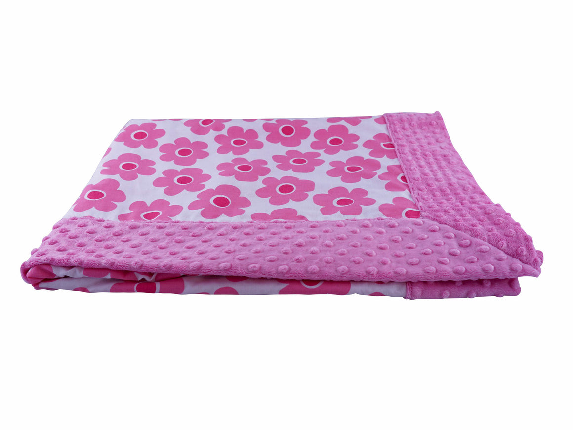Forever Baby Blanket Pink Bloom