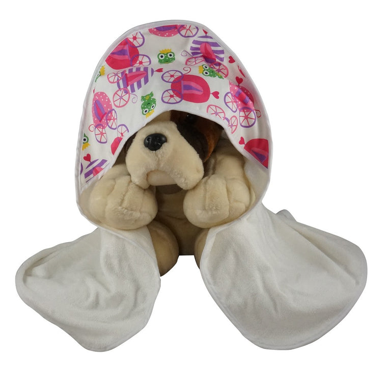 Hooded Baby Bath Towel Fairy Tale