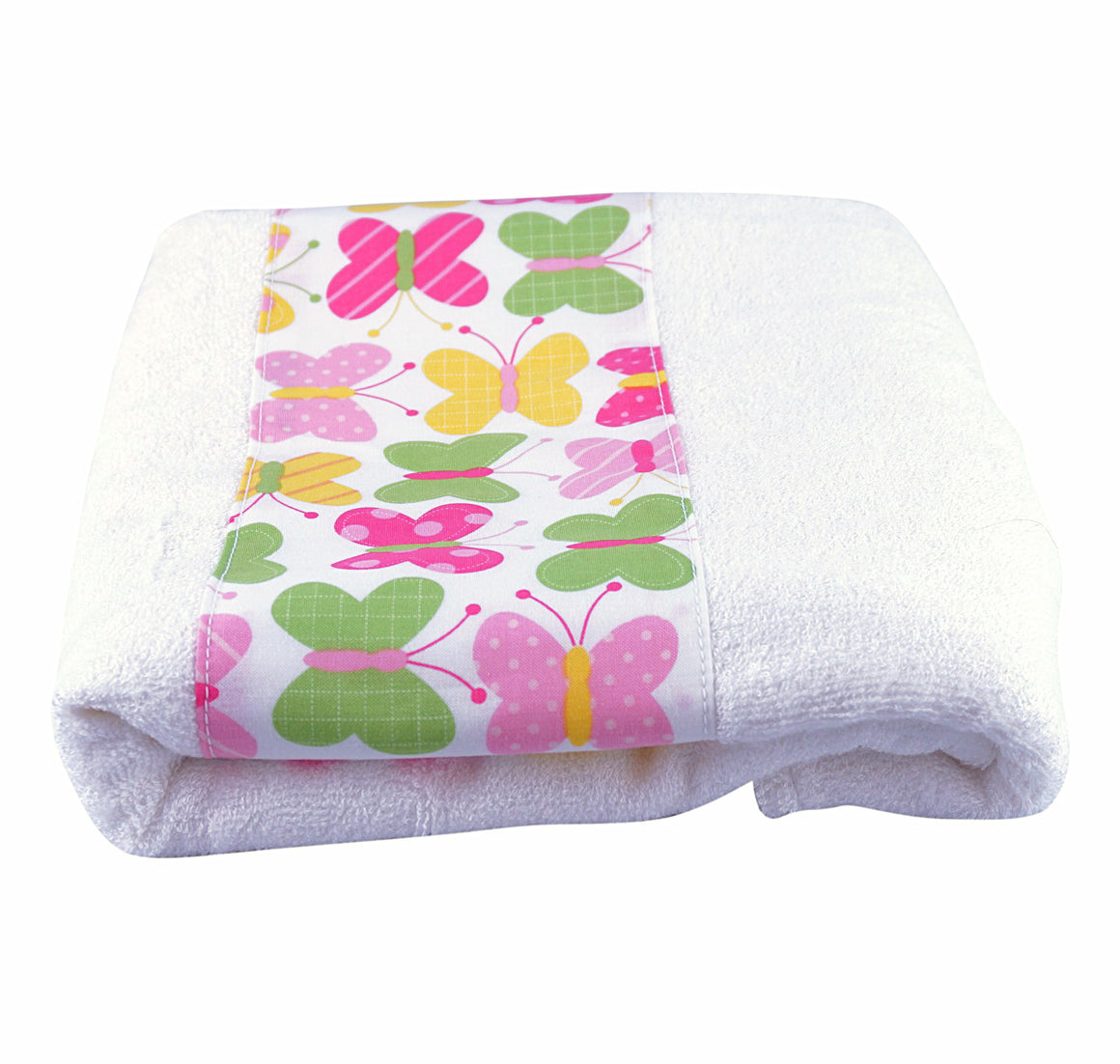 Toddler Bath Towel Butterflies