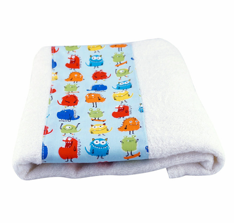 Toddler Bath Towel Monsters