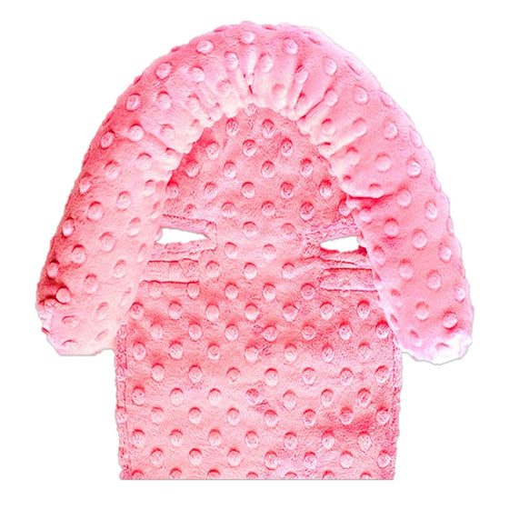 Car Seat Head Support Pink