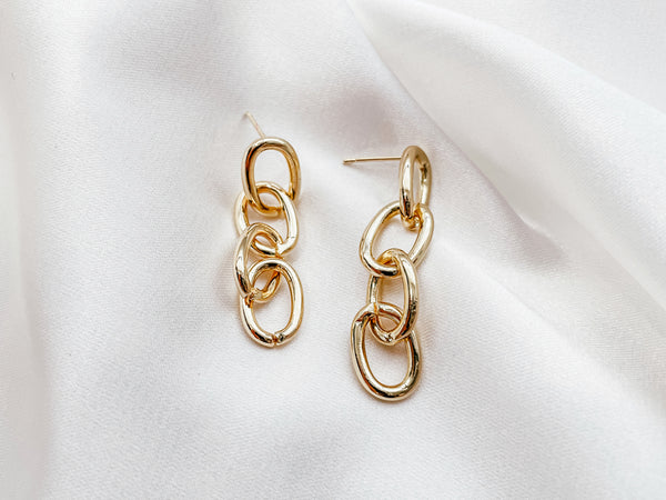 Interconnected Earrings