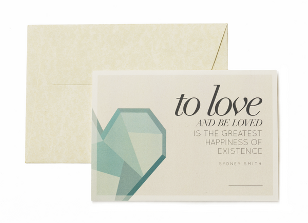 Card Set - To Loved And Be Loved