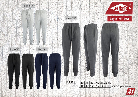 Men's sweatpants joggers $5.50ea