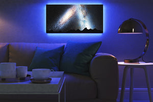Home - LED Backlit Art - NASA I / Andromeda Milkyway (25x50cm)