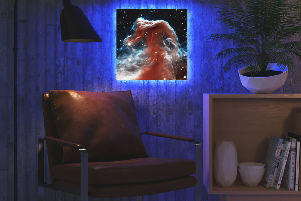 Home - LED Backlit Art - NASA I / Horsehead Nubula (28x28cm)
