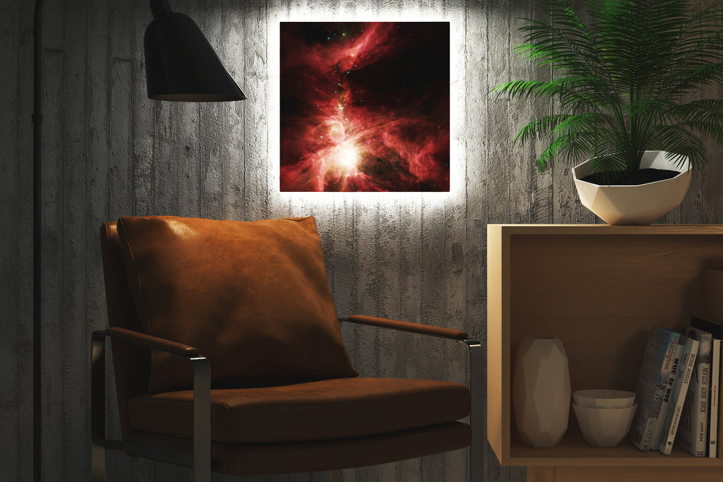 Home - LED Backlit Art - NASA I / Orion Nebula (28x28cm)