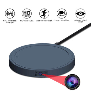 MD19 Mini Camera Video Wireless Charger HD 1080P Sensor Night Vision Camcorder Motion DVR Micro Camera Sport DV small Camera cam