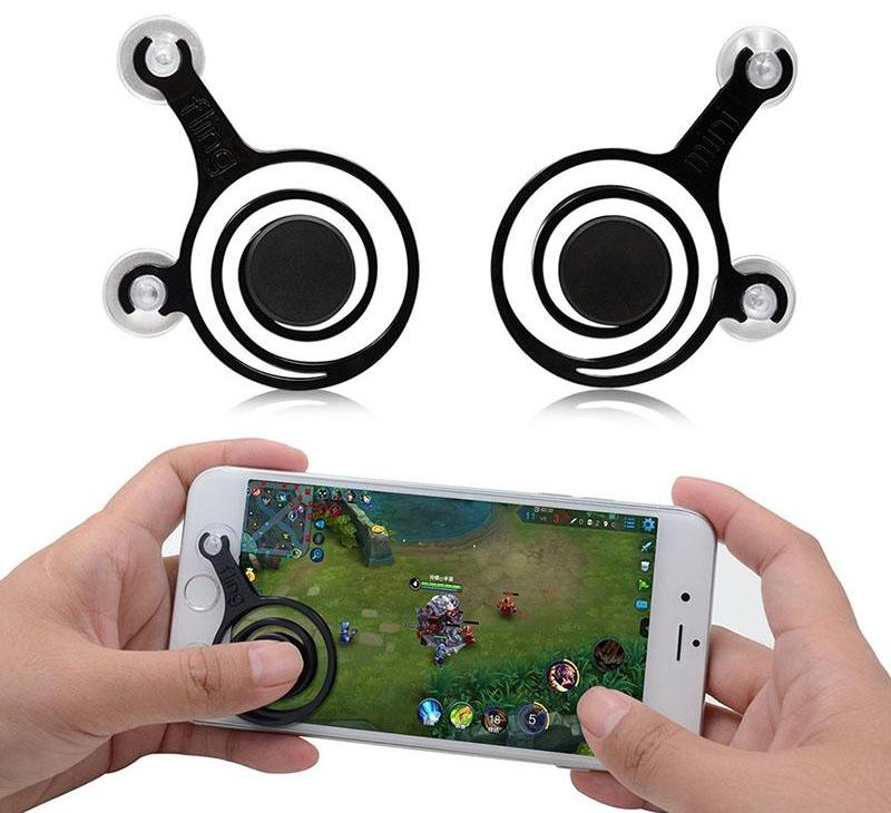 Mobile Gaming Controller - Suction Trigger Buttons (Fortnite, PUBG, Rules of Survival)