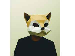 Home - Animal Mask (Cat)
