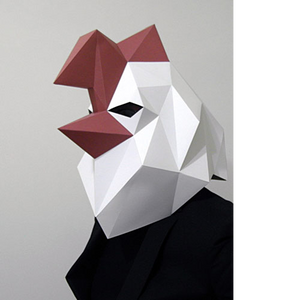 Home - Animal Mask (Rooster)