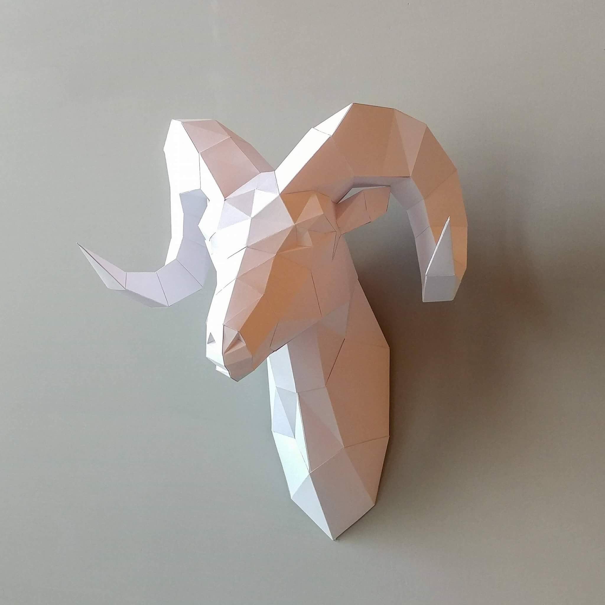 Home - Wall Decor (Goat)