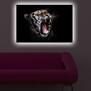 Home - LED Canvas || Tiger (40x60cm)