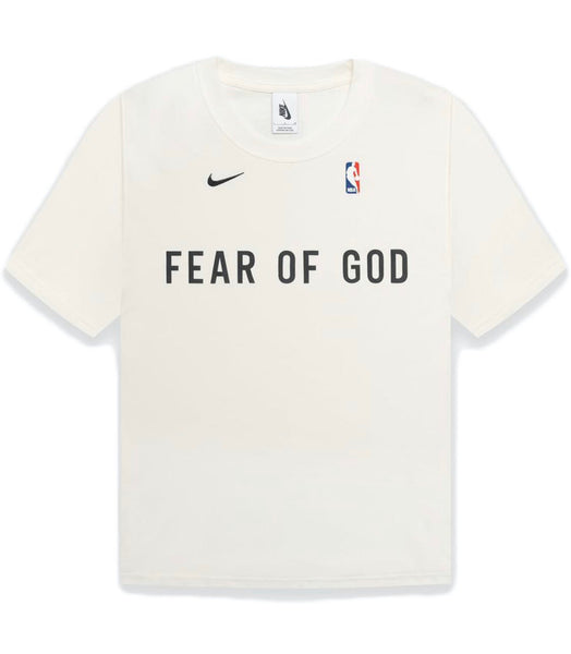Nike x fear of god warm up t-shirt sail