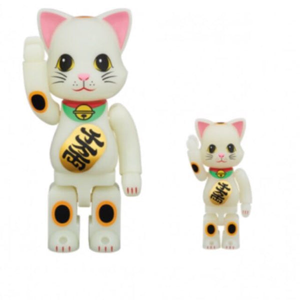 MEDICOM BEARBRICK NY@BRICK GID LUCKY CAT 400% + 100%