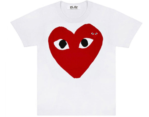 Comme des garcons CDG PLAY big heart logo tee