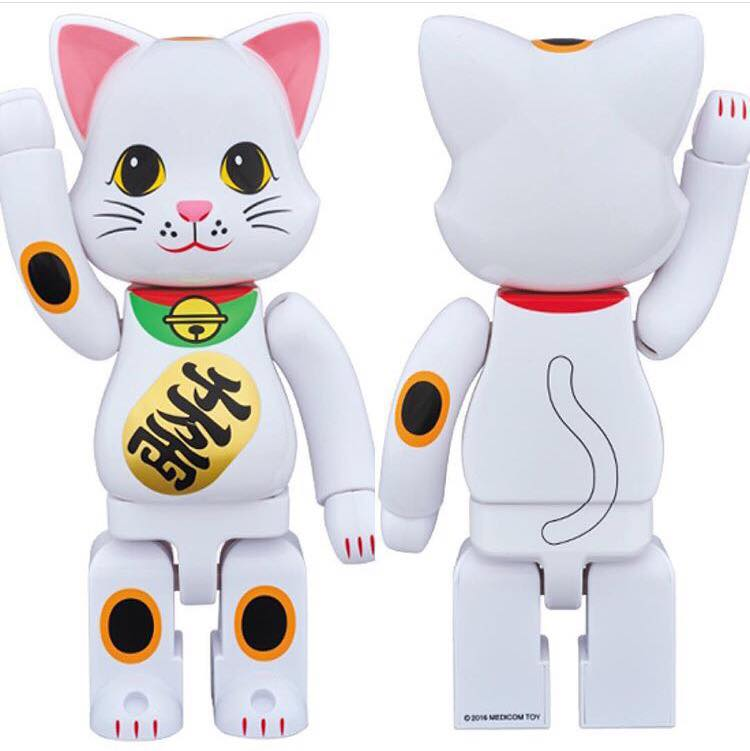 MEDICOM BEARBRICK NY@BRICK SKY TREE LUCKY CAT
