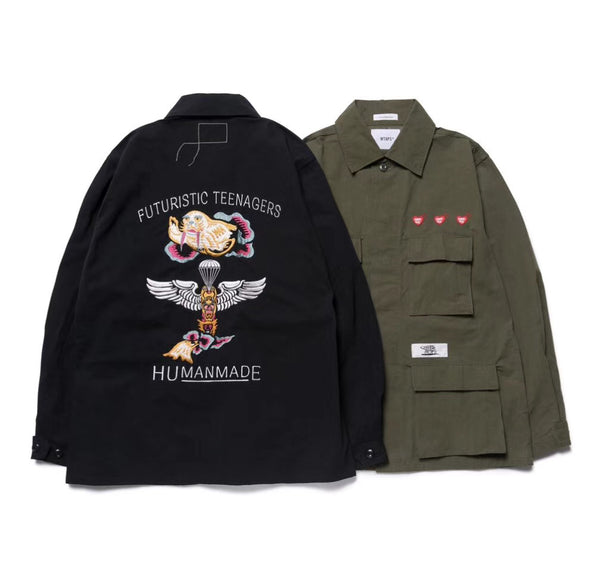 Wtaps X human made jungle shirt MILL