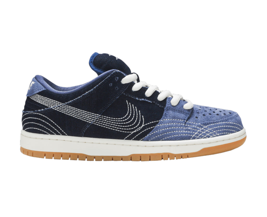 NIKE DUNK LOW PRO SB SASHIKO PACK BLUE DENIM
