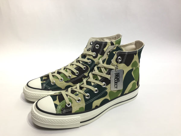 "Converse all star green camo high "" made in Japan """