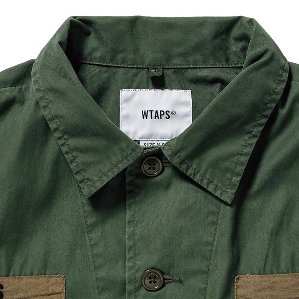 Wtaps WTAPS JUNGLE LS 01 / SHIRT. NYCO. OXFORD