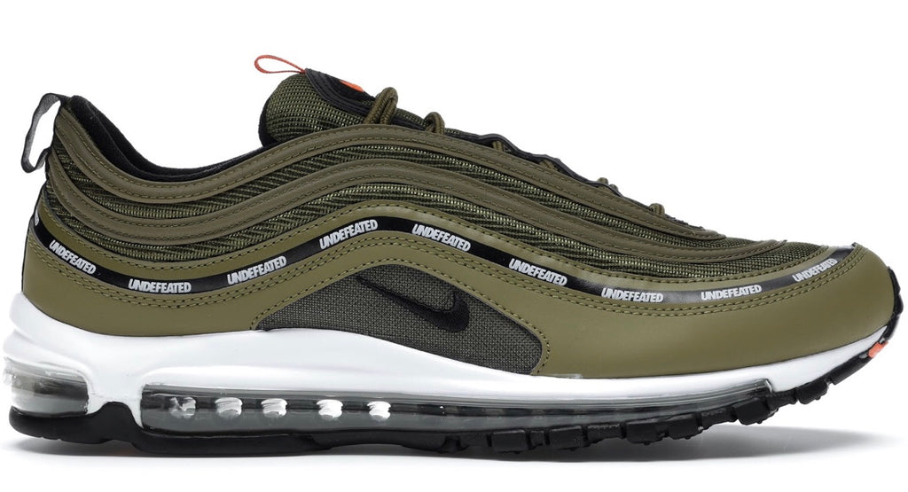 Nike x undefeated air max 97 military green