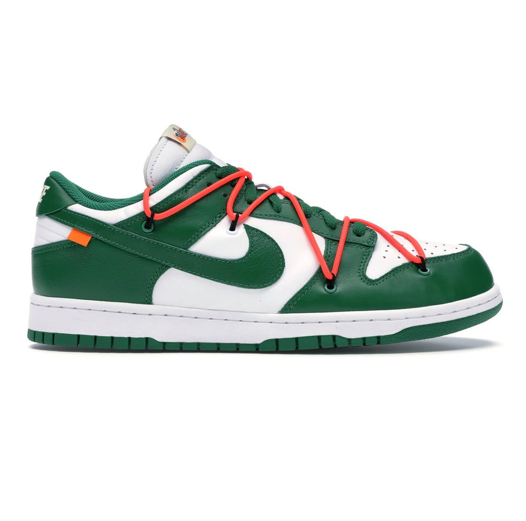 Nike x off white dunk low pine green