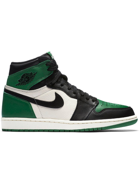 Nike air jordan 1 retro high pine green