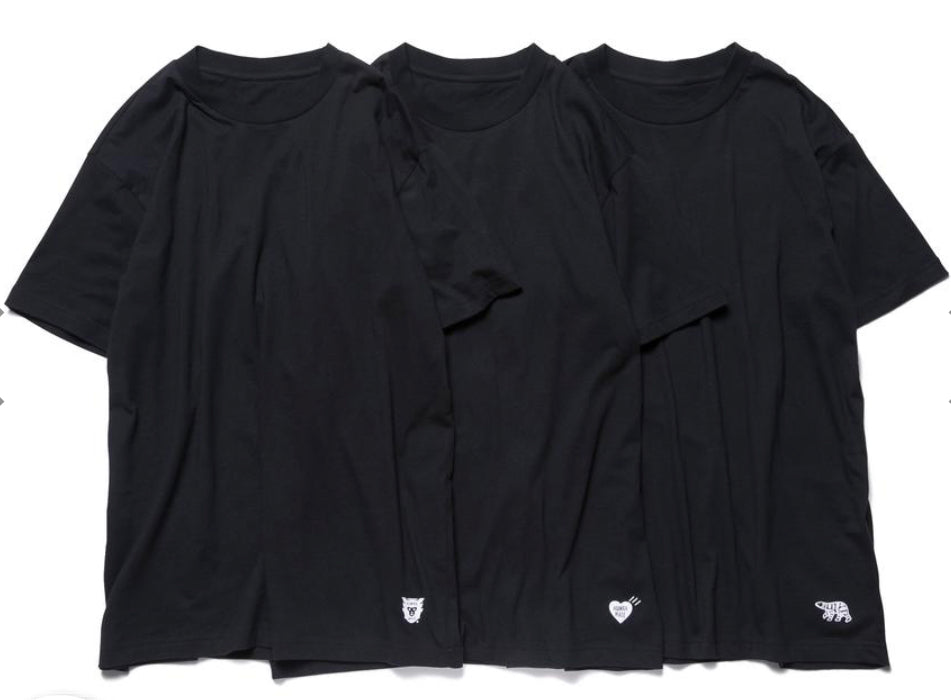 Preorder Humanmade 3 pack t-shirt