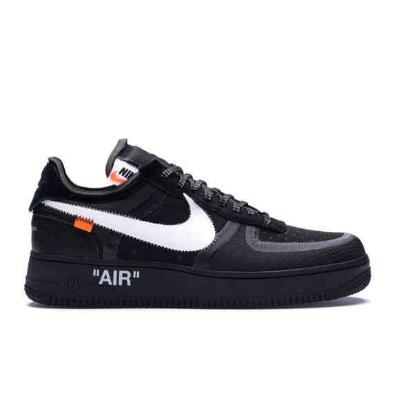 Nike x off white Air Force 1 2.0 Black the ten