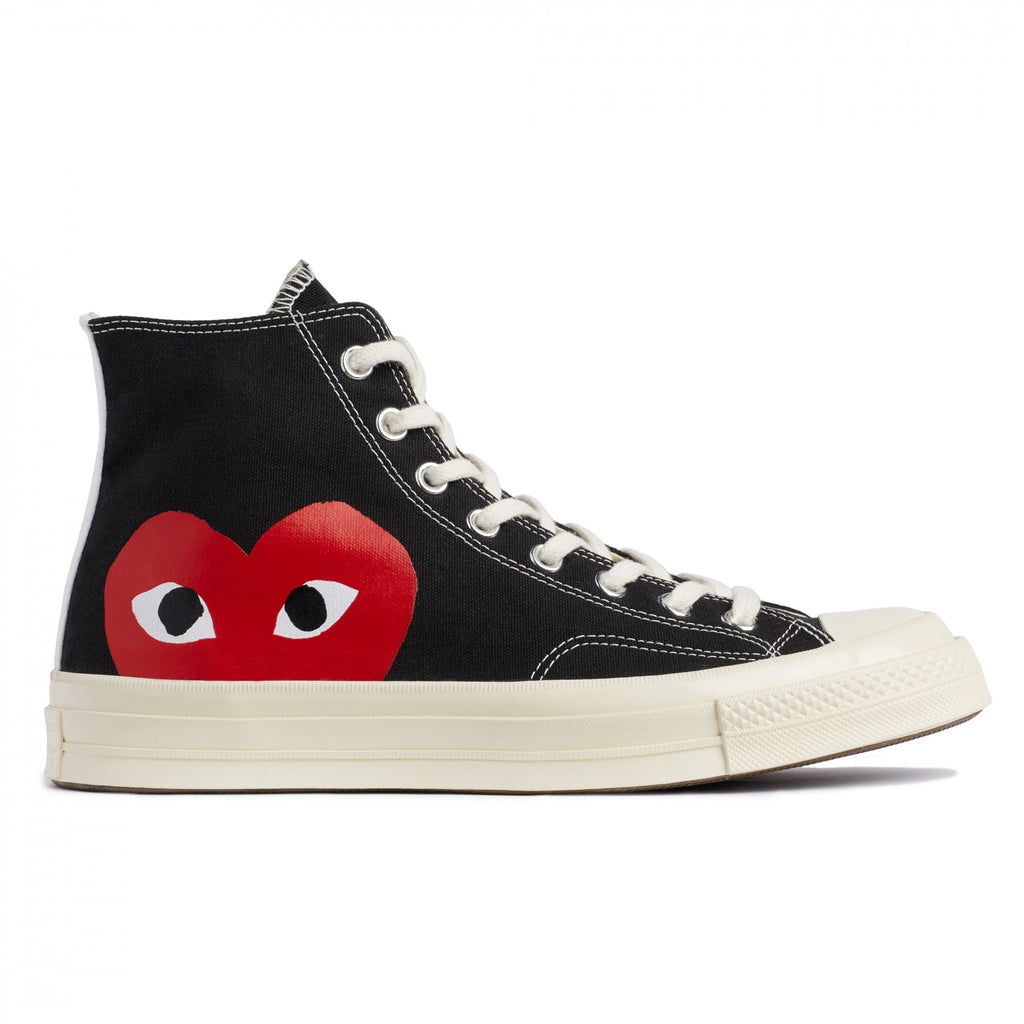 CONVERSE 1970 X CDG PLAY BLACK HIGH