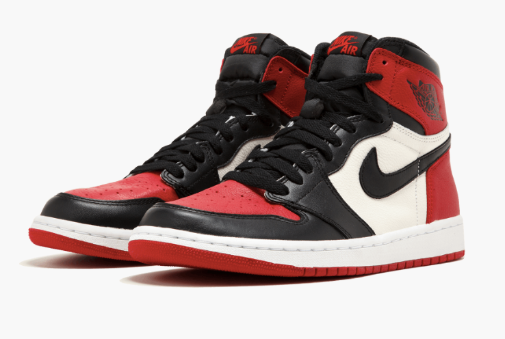 ... NIKE AIR JORDAN 1 OG HIGH BRED TOE