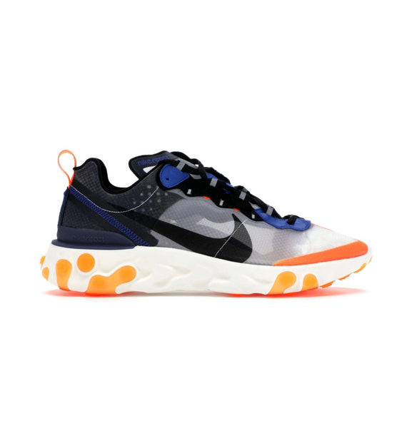Nike react element 87 Orange Navy