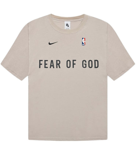 Nike x fear of god warm up t-shirt oatmeal
