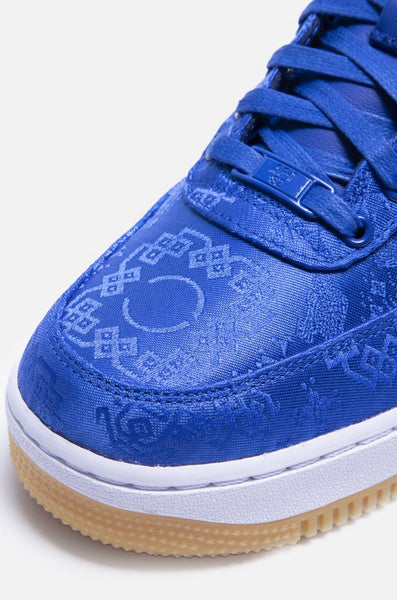 "NIKE AIR FORCE 1 X CLOT ""ROYALE UNIVERSITY BLUE SILK"""