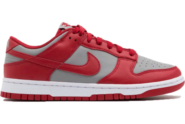 Nike dunk low grey / varsity red 2021